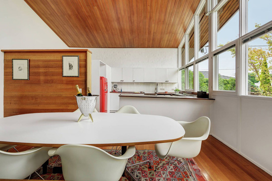 1950s modernism: Robin Boyd-designed Blott House in Chirnside Park, near Melbourne, Australia