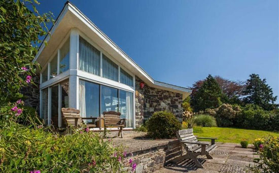 1960s Reginald Gale-designed midcentury property in Barnstaple, Devon
