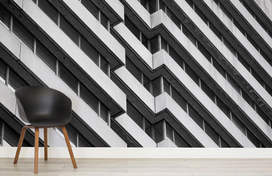 Brutalist Architecture range by Murals Wallpaper