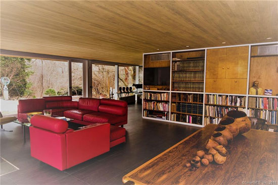 Marcel Breuer-designed David N Clark house in Orange, Connecticut, USA