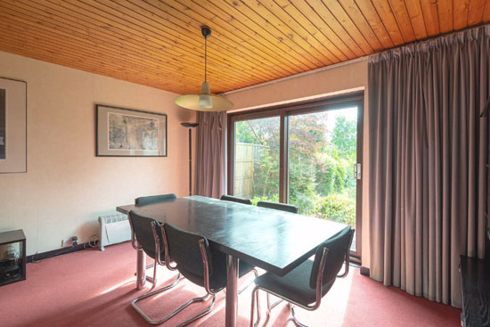 1960s modern house in Broughty Ferry, near Dundee, Scotland