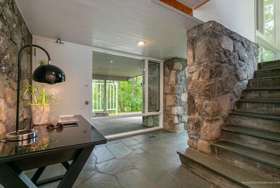 Marcel Breuer's Potter House in Cape Elizabeth, Maine, USA