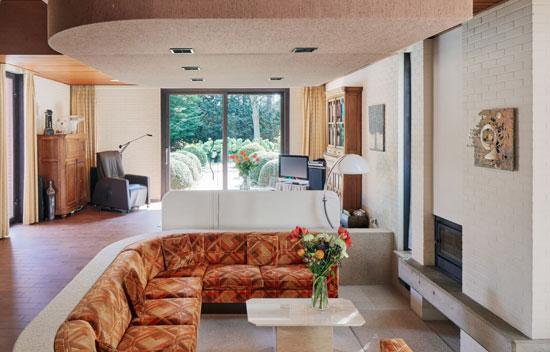 1970s Richard Foque modern house in Beringen, Belgium