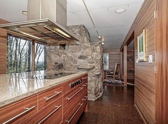 1940s Marcel Breuer-designed Chamberlain Cottage in Wayland, Massachusetts, USA