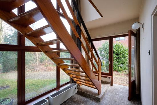1930s E. Van Steenbergen modernist house in Vosselaar, Antwerp, Belgium