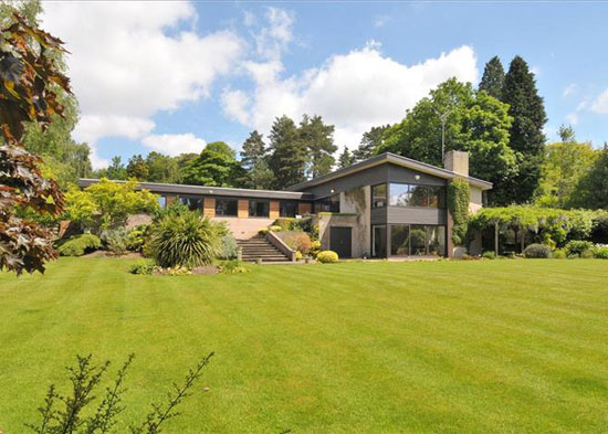 On the market: 1960s A. Monrad-Hansen-designed midcentury property in Barnt Green, Worcestershire