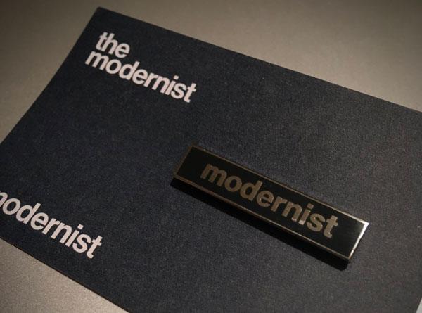 The Modernist badge