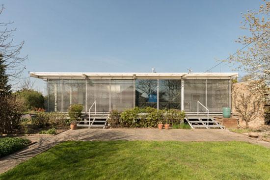 On the market: Jonathan Ellis-Miller-designed Banham Studio in Prickwillow, Cambridgeshire