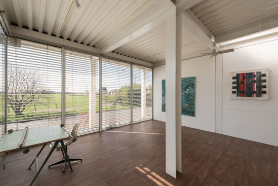 Jonathan Ellis-Miller-designed Banham Studio in Prickwillow, Cambridgeshire