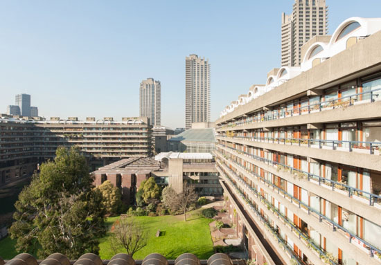 On the market: Two-bedroom apartment in Willoughby House, Barbican Estate London EC2