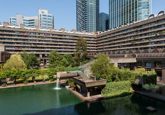 On the market: Type 20 apartment in Speed House on the Chamberlin, Powell and Bon-designed Barbican Estate, London EC2