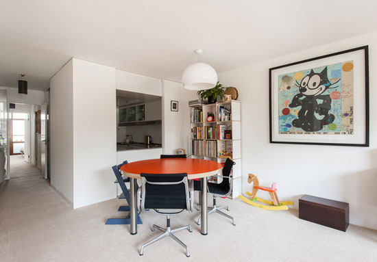 Type 20 apartment in Speed House on the Chamberlin, Powell and Bon-designed Barbican Estate, London EC2