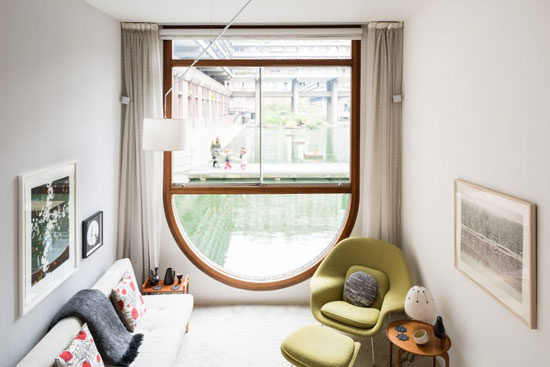 1960s Chamberlin, Powell & Bon-designed apartment in Brandon Mews, Barbican Estate, London EC2
