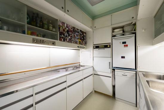 1960s Chamberlin, Powell & Bon-designed apartment in Brandon Mews, Barbican Estate, London EC2