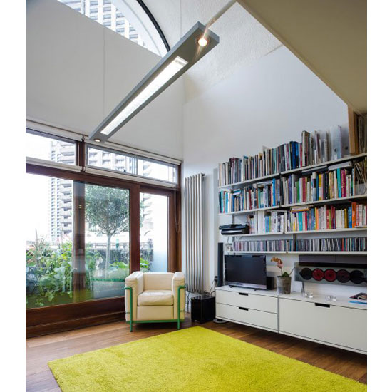Apartment in Frobisher Crescent on the Chamberlin, Powell & Bon-designed Barbican Estate, London EC2