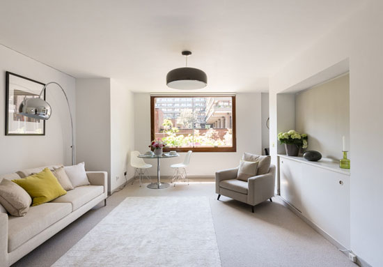 On the market: One-bedroom Type 53 apartment in the Chamberlin, Powell and Bon-designed Barbican Estate, London EC2