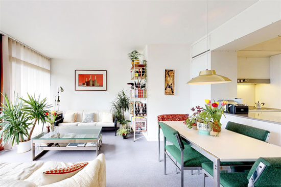 Apartment in Seddon House on the Barbican Estate, London EC2