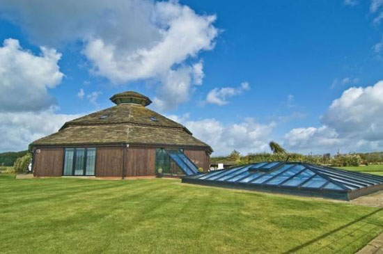 On the market: Futuristic four bedroom barn conversion in Scarisbrick, Lancashire