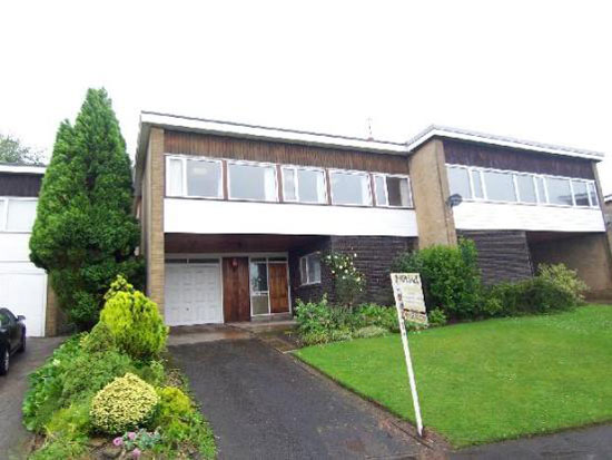 1970s architect-designed three-bedroom house in Staincross, near Barnsley, South Yorkshire