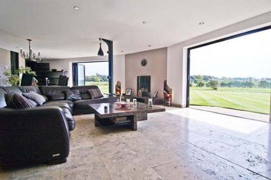 Futuristic four bedroom barn conversion in Scarisbrick, Lancashire