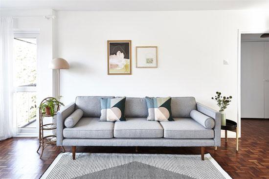 1960s modernist apartment in Barnes, London SW13
