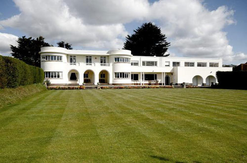 On the market: Five-bedroomed 1930s art deco house in Barton on Sea, Hampshire