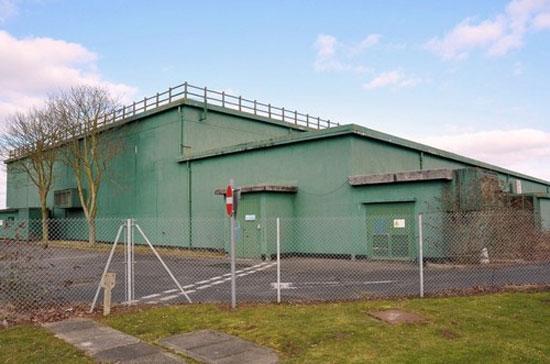 Former RAF Neatishead base near Norwich, Norfolk