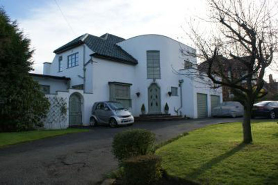 Back on the market: The White House 1930s art deco house in Batley, West Yorkshire