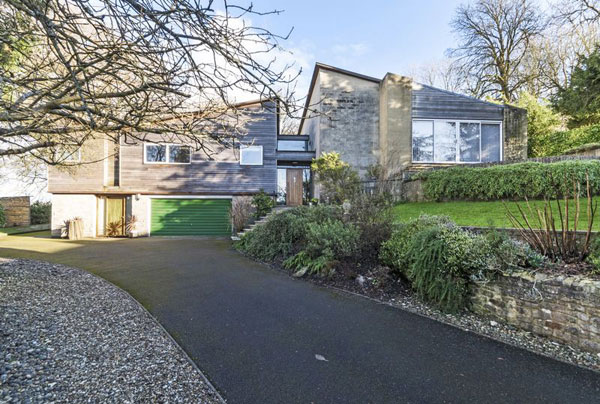 1960s modernist property in Bath, Somerset