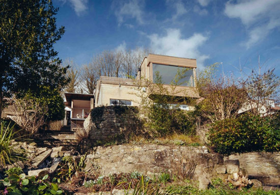 On the market: Renovated 1960s midcentury modern property in Lyncombe Vale, Bath, Somerset
