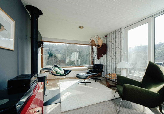 1960s midcentury modern property in Lyncombe Vale, Bath, Somerset