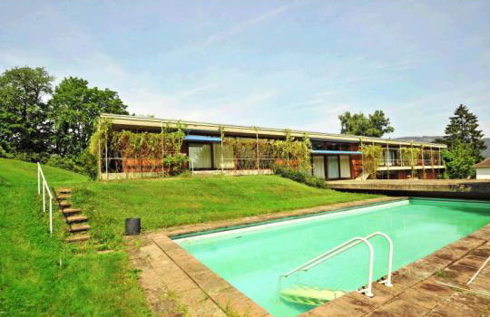 On the market: 1960s Egon Eiermann-designed modernist property in Baden-Baden, south west Germany