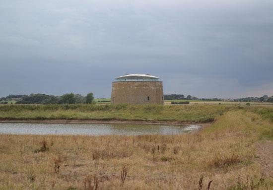 Award-winning 19th century martello tower conversion in Bawdsey, Suffolk
