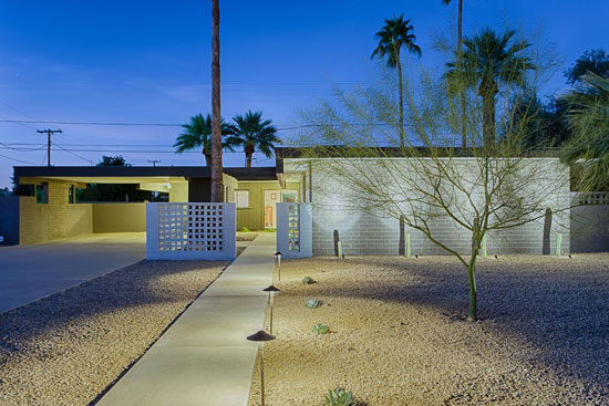 On the market: 1960s Al Beadle-designed midcentury modern property in Phoenix, Arizona, USA