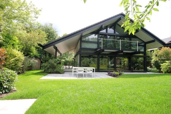 On the market: Five-bedroom contemporary modernist Huf Haus in Beaconsfield, Buckinghamshire