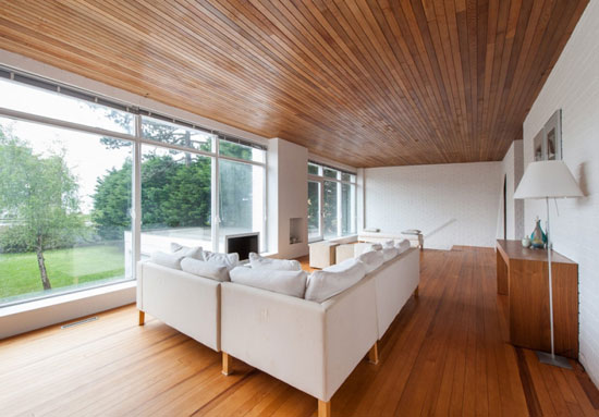 The Beach House 1960s midcentury modern property in Hayling Island, Hampshire
