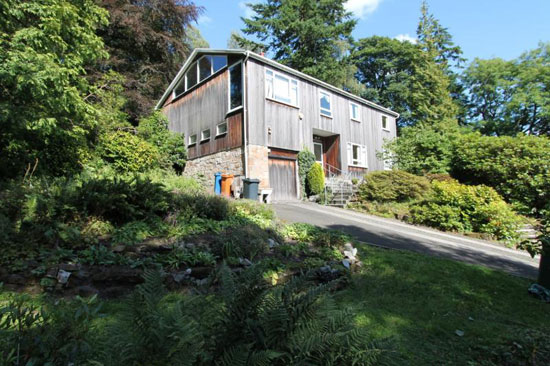 On the market: 1960s modernist property in Bearsden, East Dunbartonshire, Scotland