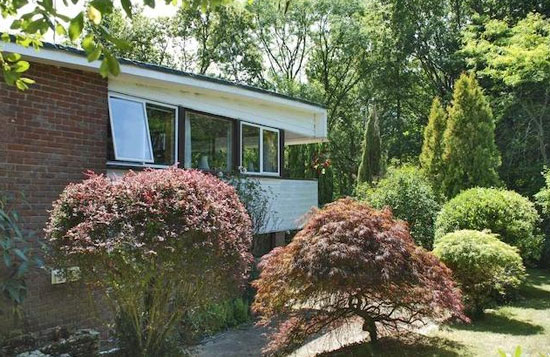 1970s modernist property in Beaulieu, Hampshire
