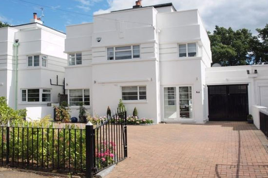 On the market: 1930s five-bedroom art deco property in Beckenham, Kent