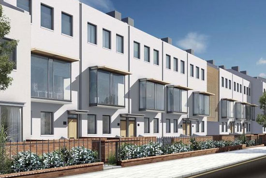 On the market: Five-bedroom modernist town houses in North Kensington, London W10