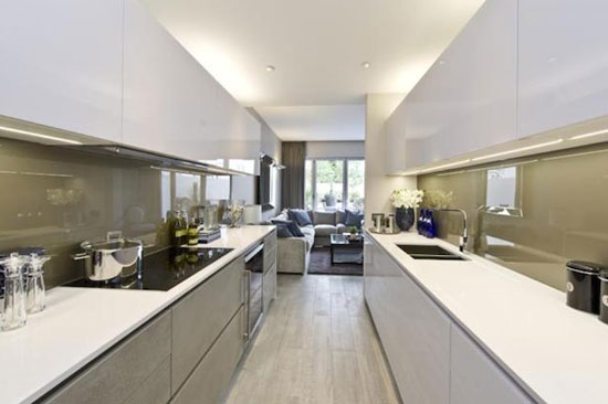 Five-bedroom modernist town houses in North Kensington, London W10