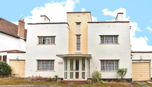 1930s art deco renovation project in Beckenham, Kent