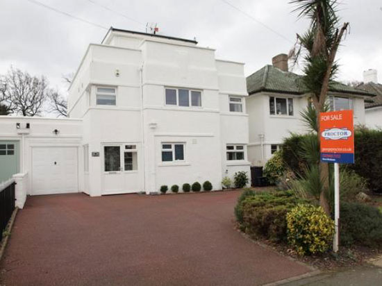 On the market: Five bedroom 1930s art deco house in Beckenham, Kent