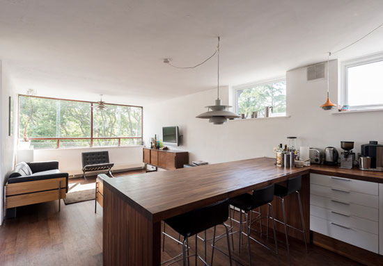 On the market: Two-bedroom apartment in the 1960s Copper Beech building, London N6