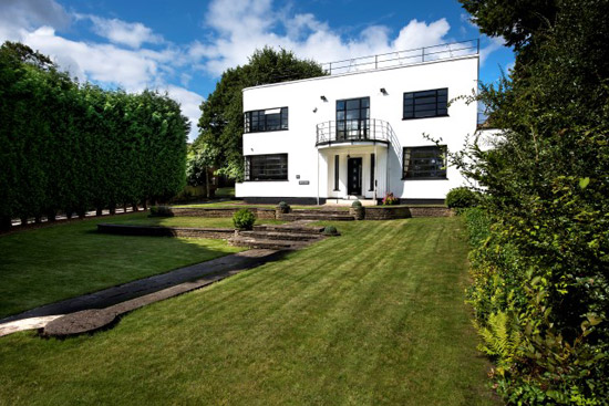 1930s Beech House art deco property in Sutton Coldfield, West Midlands