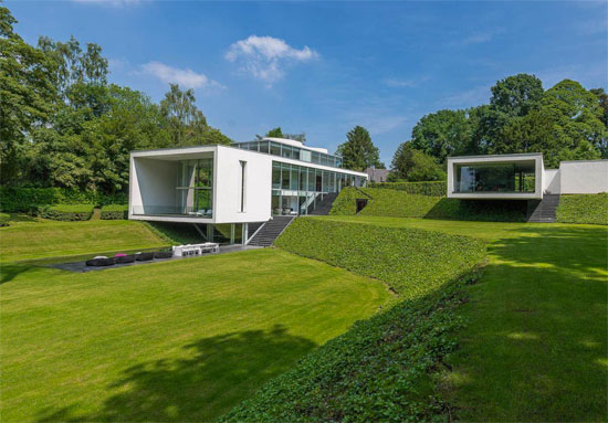 On the market: Bruno Erpicum-designed modernist property in Rhode Saint Genese, Belgium