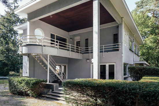 On the market: 1930s Leon Stynen-designed modernist property in Schoten, Antwerp, Belgium