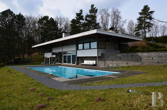 On the market: 1960s Dominique-Alexandre Louis-designed modernist property in Epinal, Vosges, eastern France
