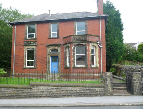 Disused Victorian police station in Belmont, Bolton, Lancashire