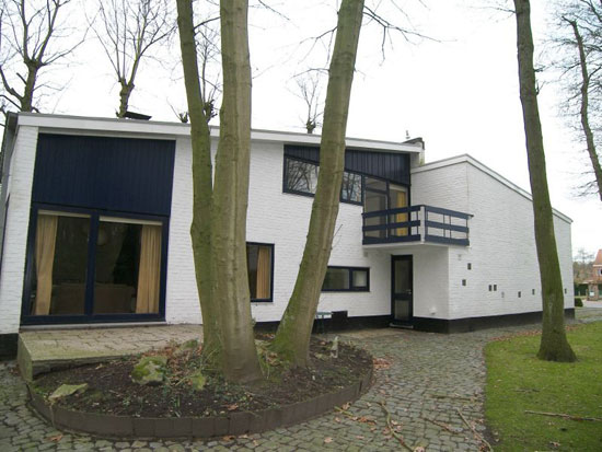 1950s midcentury modern property in Assebroek, near Bruges, Belgium